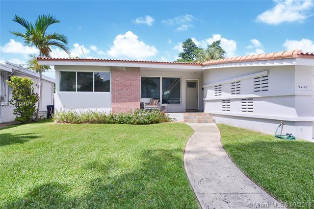 9248 Harding Ave, Surfside, FL 33154 (MLS #A10539891) :: Stanley Rosen Group