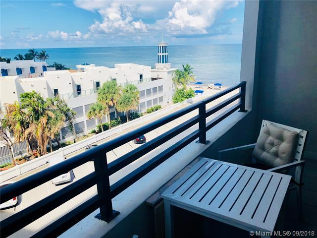 3505 S Ocean Dr #509, Hollywood, FL 33019 (MLS #A10540364) :: The Chenore Real Estate Group