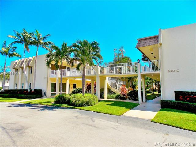 632 Snug Harbor Dr D14, Boynton Beach, FL 33435 (MLS #A10541011) :: The Riley Smith Group