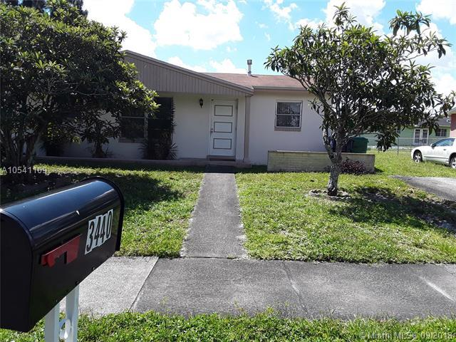 3440 NW 197th St, Miami Gardens, FL 33056 (MLS #A10541109) :: Green Realty Properties