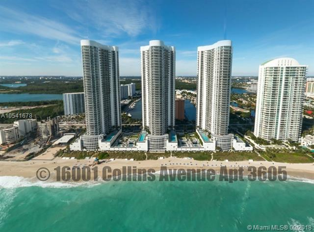 16001 Collins Ave #3605, Sunny Isles Beach, FL 33160 (MLS #A10541678) :: Hergenrother Realty Group Miami