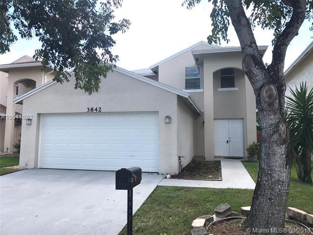 3842 NW 23rd Manor, Coconut Creek, FL 33066 (MLS #A10541802) :: Green Realty Properties