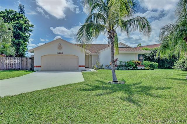 3101 NW 106th Ave, Sunrise, FL 33351 (MLS #A10543035) :: Green Realty Properties