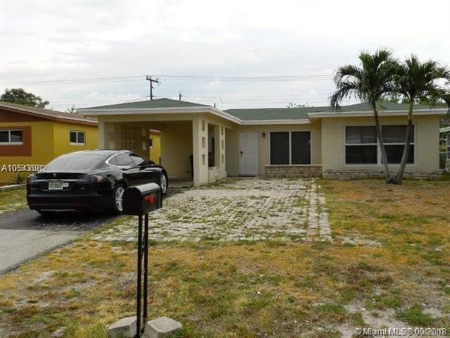 1251 NE 39th St, Pompano Beach, FL 33064 (MLS #A10543082) :: Green Realty Properties