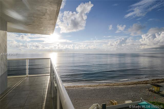 3725 S Ocean Dr #702, Hollywood, FL 33019 (MLS #A10543687) :: Laurie Finkelstein Reader Team
