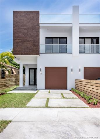 3051 Ohio St #1, Coconut Grove, FL 33133 (MLS #A10545851) :: Green Realty Properties