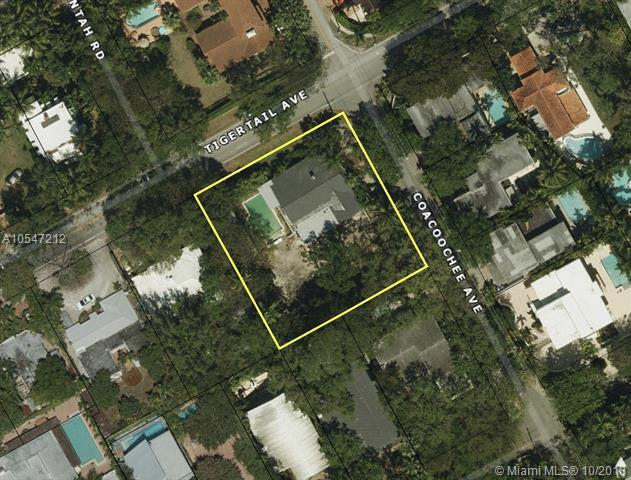 3210 Coacoochee St, Coconut Grove, FL 33133 (MLS #A10547212) :: The Riley Smith Group