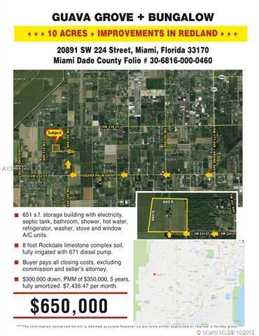 20891 SW 224th St, Miami, FL 33170 (MLS #A10548712) :: Prestige Realty Group