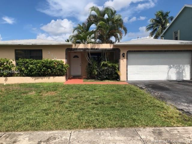 3700 NW 116th Ter, Sunrise, FL 33323 (MLS #A10549865) :: Green Realty Properties