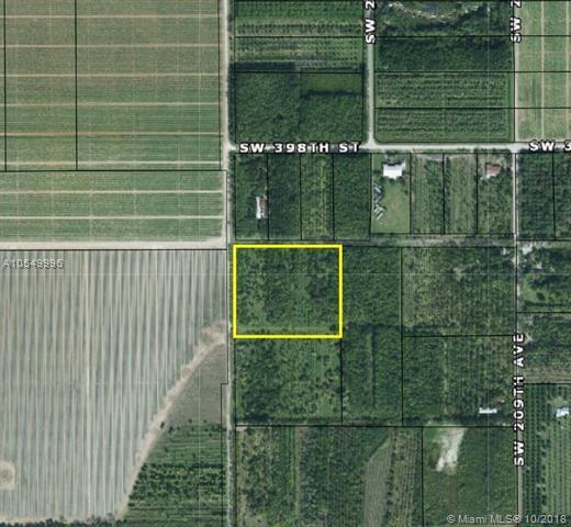 SW 400 ST (APPROX) SW 212 ST, Miami, FL 33034 (MLS #A10549996) :: Green Realty Properties