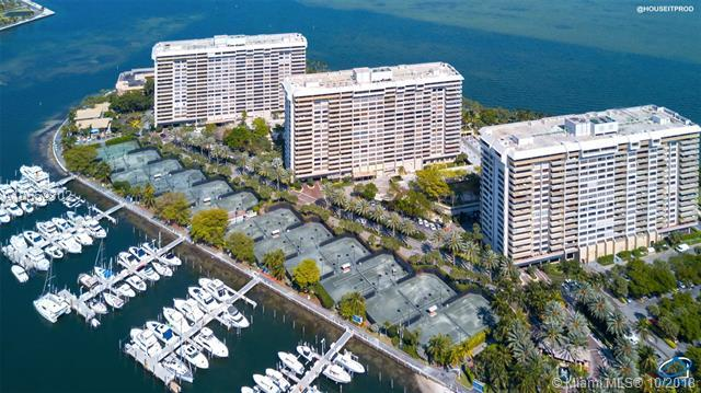 2 Grove Isle Dr B602, Coconut Grove, FL 33133 (MLS #A10552302) :: The Jack Coden Group