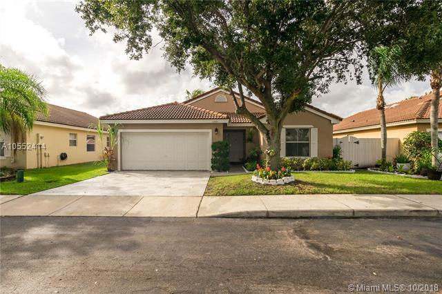 16572 NW 6th St, Pembroke Pines, FL 33028 (MLS #A10552414) :: Green Realty Properties