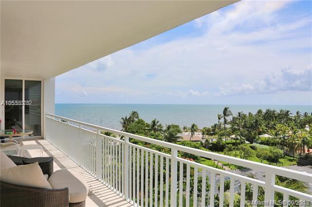 605 Ocean Dr 8M, Key Biscayne, FL 33149 (MLS #A10553302) :: Carole Smith Real Estate Team
