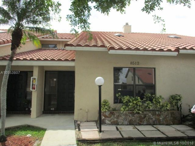 8512 Shadow Ct 4-17, Coral Springs, FL 33071 (MLS #A10553807) :: The Teri Arbogast Team at Keller Williams Partners SW