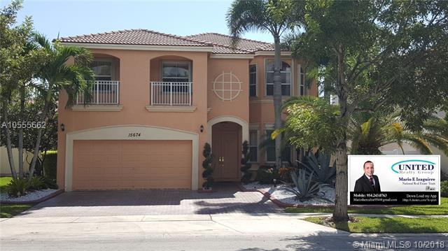 15674 SW 53 Ct, Miramar, FL 33027 (MLS #A10555662) :: The Teri Arbogast Team at Keller Williams Partners SW