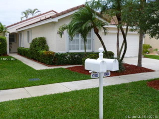 17404 SW 22nd St, Miramar, FL 33029 (MLS #A10556080) :: Laurie Finkelstein Reader Team