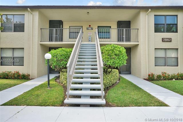 7867 Willow Spring Dr #825, Lake Worth, FL 33467 (MLS #A10556459) :: Green Realty Properties