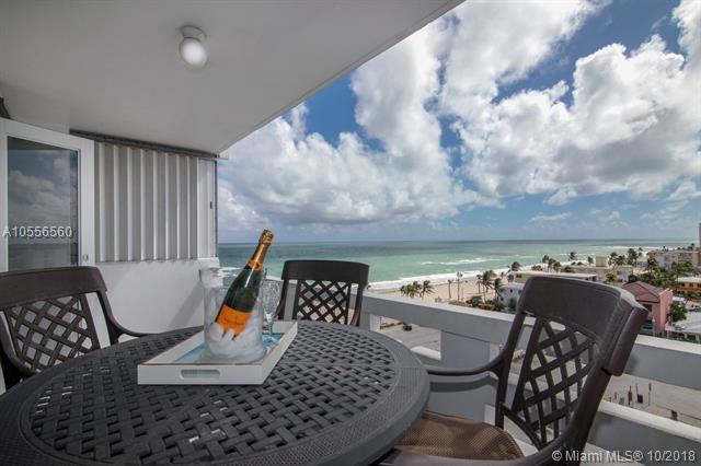 3111 N Ocean Dr #809, Hollywood, FL 33019 (MLS #A10556560) :: RE/MAX Presidential Real Estate Group