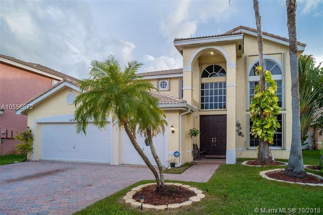 16438 SW 22nd St, Miramar, FL 33027 (MLS #A10556872) :: Green Realty Properties