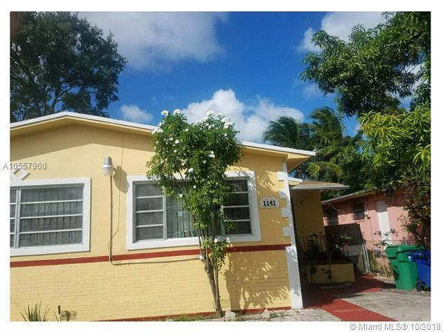 1141 NW 75th St, Miami, FL 33150 (MLS #A10557960) :: Green Realty Properties