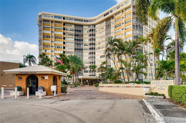 100 Golden Isles Dr #1207, Hallandale, FL 33009 (MLS #A10562270) :: Green Realty Properties