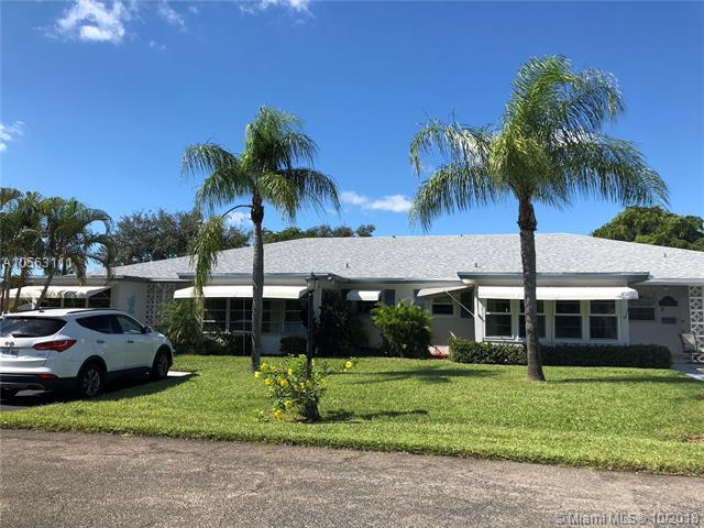 1182 S Drive Cir B, Delray Beach, FL 33445 (MLS #A10563111) :: The Paiz Group