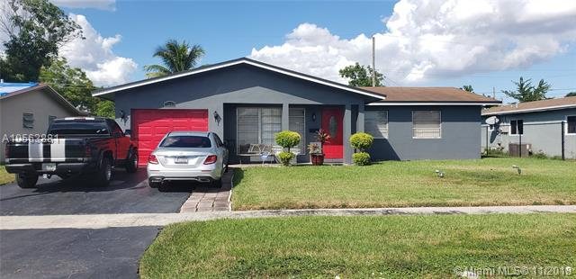 5841 Nw 15Th Ct, Sunrise, FL 33313 (MLS #A10563881) :: Green Realty Properties