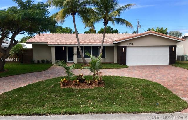 5711 NE 21st Ave, Fort Lauderdale, FL 33308 (MLS #A10566011) :: The Chenore Real Estate Group