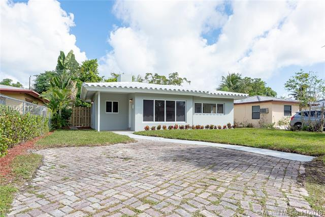 1436 NW 7th Ave, Fort Lauderdale, FL 33311 (MLS #A10566112) :: Green Realty Properties