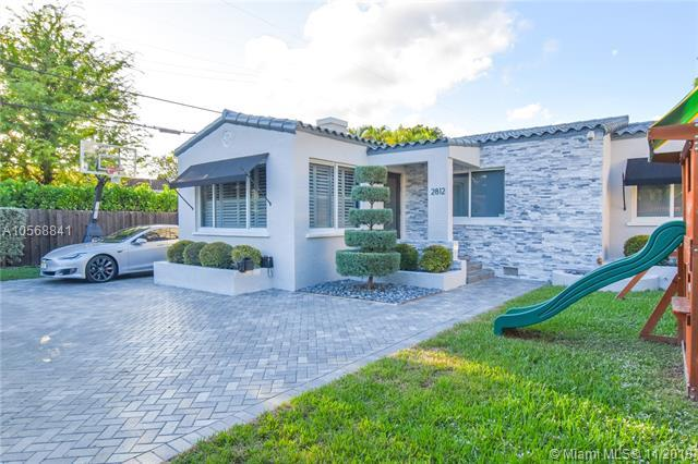 2812 SW 4th Ave, Miami, FL 33129 (MLS #A10568841) :: Green Realty Properties