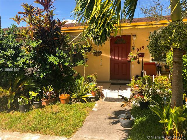 917 NE 10th St, Hallandale, FL 33009 (MLS #A10569196) :: Laurie Finkelstein Reader Team