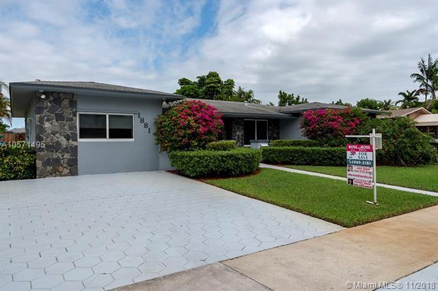 1881 NE 211th St, Miami, FL 33179 (MLS #A10571495) :: The Paiz Group