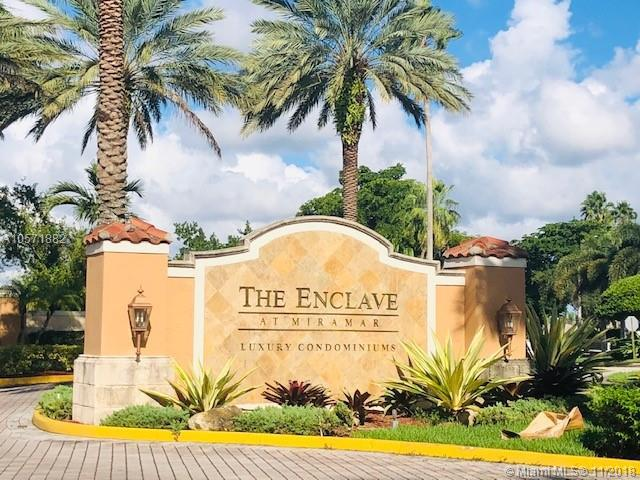 2011 Renaissance Blvd #103, Miramar, FL 33025 (MLS #A10571882) :: The Chenore Real Estate Group