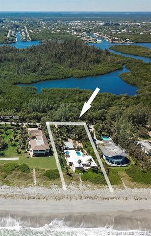 55 N Beach Rd, Hobe Sound, FL 33455 (MLS #A10571965) :: The Brickell Scoop