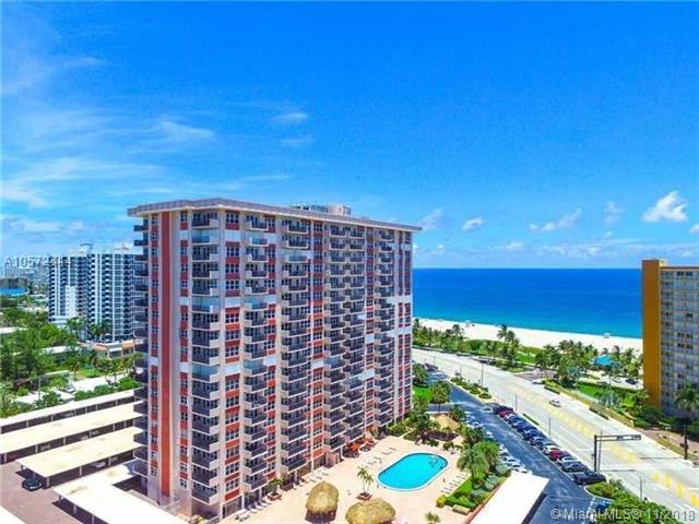 405 N Ocean Blvd #508, Pompano Beach, FL 33062 (MLS #A10572444) :: Miami Villa Team