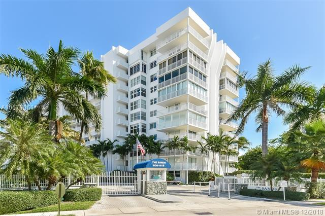 609 Ocean Dr 8G, Key Biscayne, FL 33149 (MLS #A10573061) :: Green Realty Properties