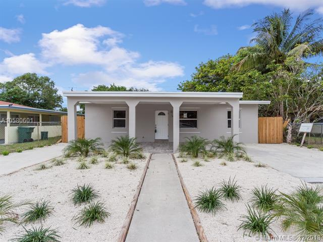 1421 NW 7th Ter, Fort Lauderdale, FL 33311 (MLS #A10580601) :: The Teri Arbogast Team at Keller Williams Partners SW