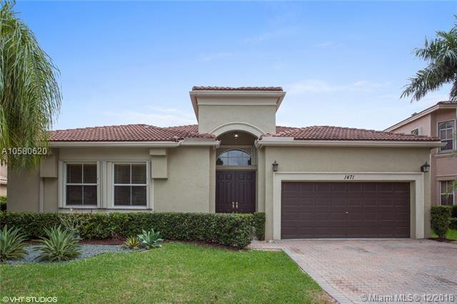 1471 SW 171st Ter, Pembroke Pines, FL 33027 (MLS #A10580620) :: Green Realty Properties