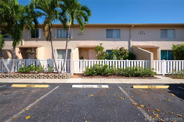 1633 NW 80th Ave D, Margate, FL 33063 (MLS #A10580682) :: Miami Villa Team