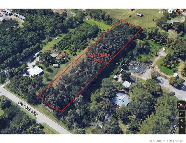 0 SW 185 Way, Southwest Ranches, FL 33332 (MLS #A10581746) :: Green Realty Properties