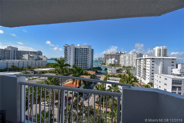1621 Bay Rd #804, Miami Beach, FL 33139 (MLS #A10583269) :: Miami Villa Team