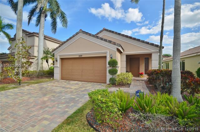 1488 Canary Island, Weston, FL 33327 (MLS #A10583400) :: The Teri Arbogast Team at Keller Williams Partners SW