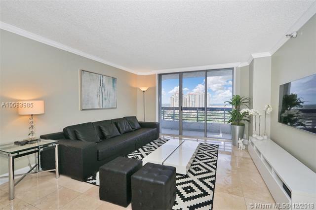 3400 NE 192nd St #1707, Aventura, FL 33180 (MLS #A10583985) :: Miami Villa Team