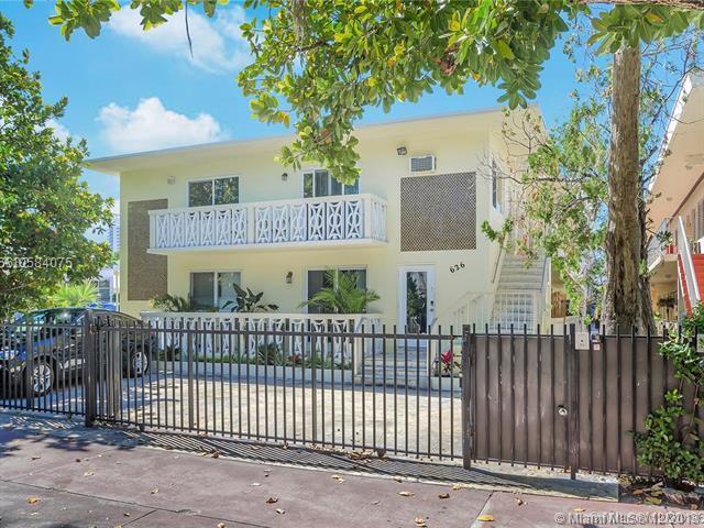 626 Meridian Ave #6, Miami Beach, FL 33139 (MLS #A10584075) :: Miami Villa Team
