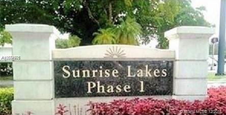 7960 N Sunrise Lakes Dr N #308, Sunrise, FL 33322 (MLS #A10584976) :: The Teri Arbogast Team at Keller Williams Partners SW