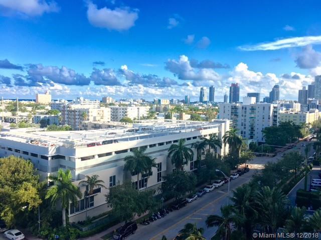 1200 West Ave #915, Miami Beach, FL 33139 (MLS #A10585064) :: Keller Williams Elite Properties