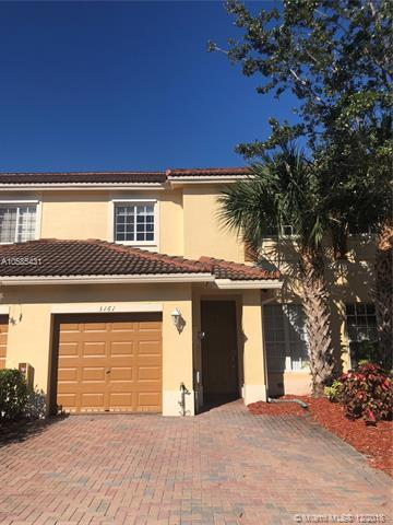 3161 NW 33rd St #3161, Oakland Park, FL 33309 (MLS #A10585431) :: Castelli Real Estate Services