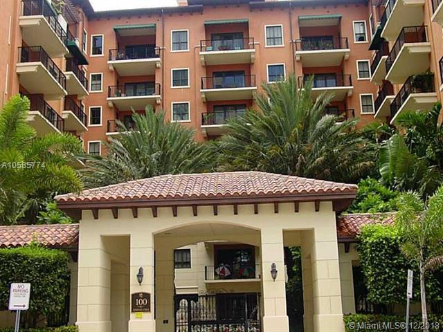 100 Andalusia Av #214, Coral Gables, FL 33134 (MLS #A10585774) :: Hergenrother Realty Group Miami