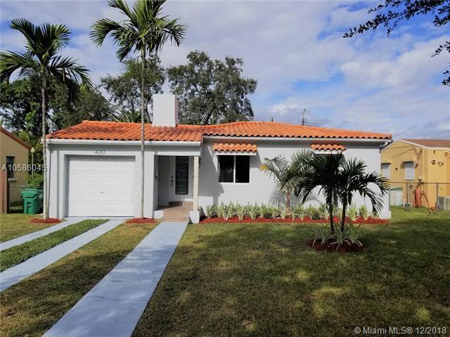 4351 SW 15th St, Miami, FL 33134 (MLS #A10586045) :: Miami Lifestyle