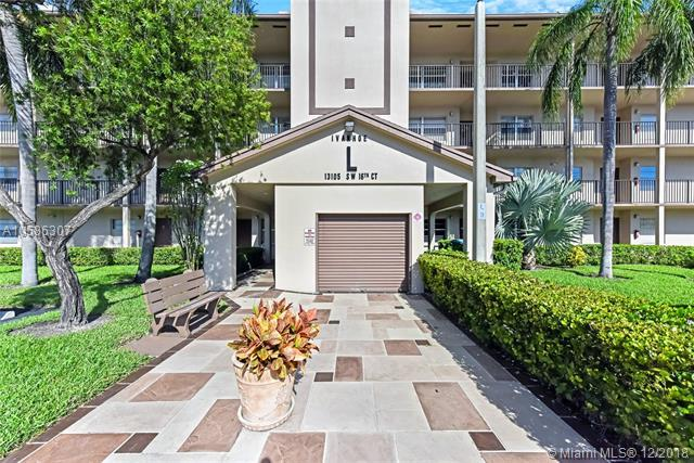 13105 SW 16th Ct 408L, Pembroke Pines, FL 33027 (MLS #A10586307) :: RE/MAX Presidential Real Estate Group